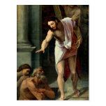 La pendiente de Cristo en el limbo, C. 1532 Tarjetas Postales