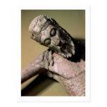 La pendiente de la cruz, siglo XII (polychro Tarjeta Postal
