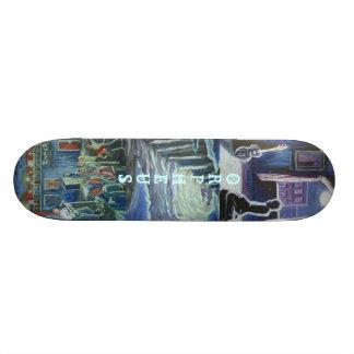 La pendiente de Orfeo Tabla De Skate