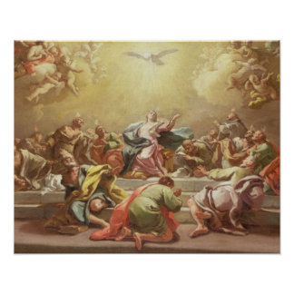 La pendiente del Espíritu Santo Poster