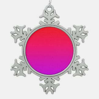 la pendiente inferior púrpura superior roja DIY cr Adornos