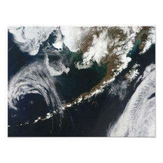 La península de Alaska y las islas Aleutian Fotografías