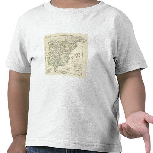 La península ibérica camisetas