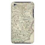 La península ibérica iPod Case-Mate coberturas