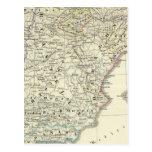 La península ibérica postal