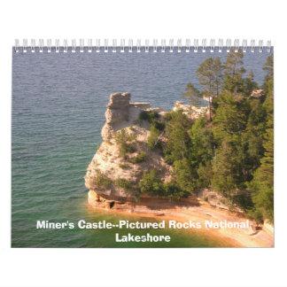 La península superior de Michigan. Calendario