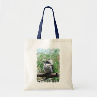 La pequeña bolsa de asas de risa de Kookaburra