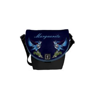 La pequeña bolsa de mensajero de Feathyrkin Veeku Bolsas De Mensajería