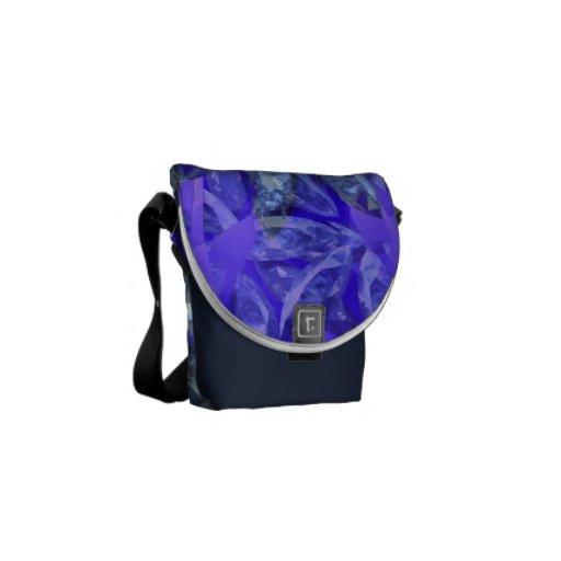 La pequeña bolsa de mensajero del placer púrpura ( bolsa de mensajeria