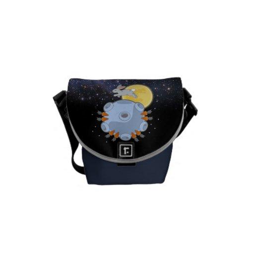 La pequeña bolsa de mensajero - en el lado oscuro  bolsa messenger