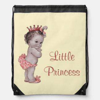 La pequeña bolsa de pañales de princesa Baby del v Mochila
