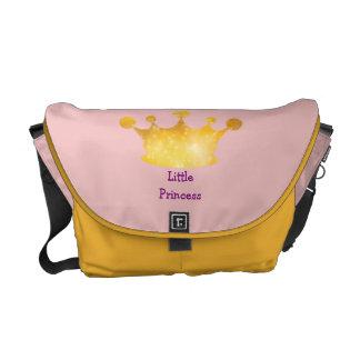 La pequeña bolsa de pañales de princesa Cute Crown Bolsa De Mensajeria