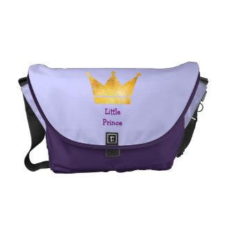 La pequeña bolsa de pañales de príncipe Cute Crown Bolsas De Mensajería