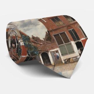 La pequeña calle de Juan Vermeer Corbatas