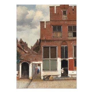 La pequeña calle de Juan Vermeer Comunicado