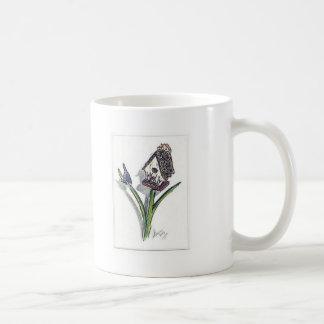La pequeña casa del pájaro taza clásica