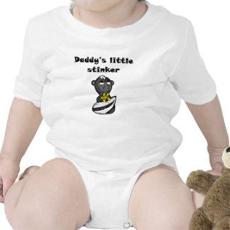 La pequeña cosa maloliente del papá trajes de bebé
