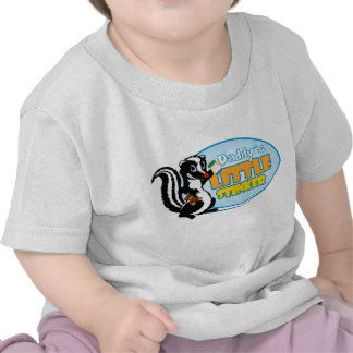 La pequeña cosa maloliente del papá camisetas