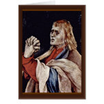 La pequeña crucifixión: Cristo en la cruz, Maria M Tarjetón