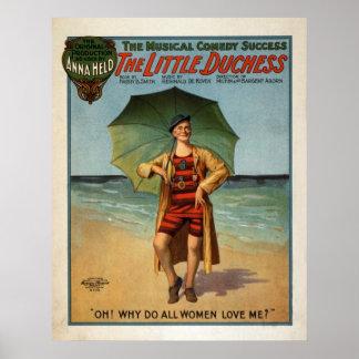 La pequeña duquesa comedia musical 1906 impresiones