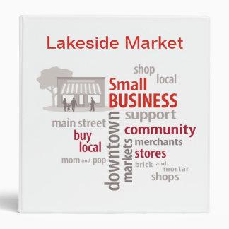 """La pequeña empresa, hace compras Local, compra el Carpeta 1 1/2"""""""