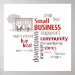 La pequeña empresa, hace compras Local, compra el Impresiones