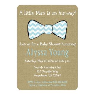 La pequeña fiesta de bienvenida al bebé de la invitación 12,7 x 17,8 cm