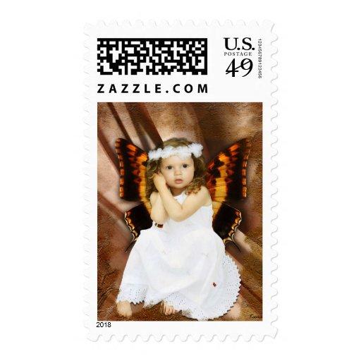 La pequeña hada sello