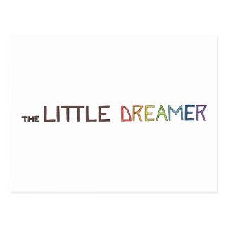 La pequeña línea logotipo del arco iris del tarjetas postales