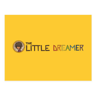 La pequeña línea logotipo del soñador con Zayoni Postal