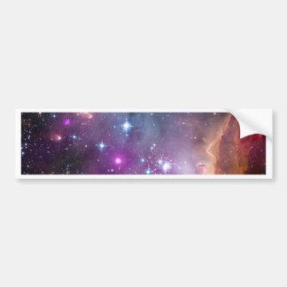 La pequeña nube de Magellanic Etiqueta De Parachoque