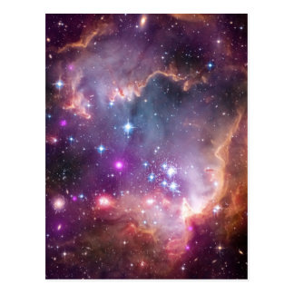 La pequeña nube de Magellanic Postal