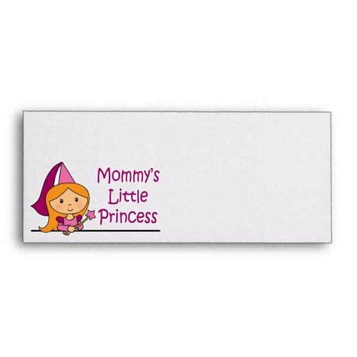 La pequeña princesa de la mamá