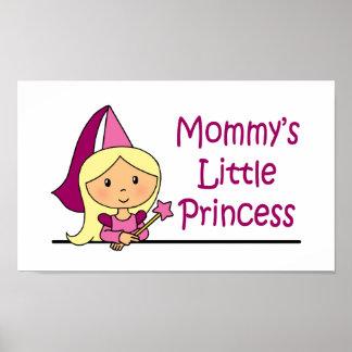 La pequeña princesa de la mamá impresiones