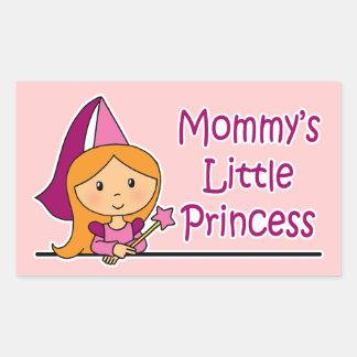 La pequeña princesa de la mamá rectangular altavoces