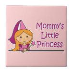 La pequeña princesa de la mamá tejas  ceramicas