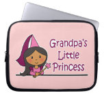 La pequeña princesa del abuelo fundas computadoras
