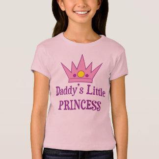 La pequeña princesa del papá playera