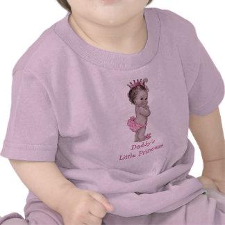 La pequeña princesa Vintage Baby del papá Camiseta
