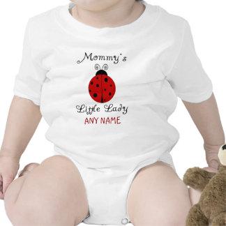 ¡La pequeña señora de la mamá!  Diseño de la Trajes De Bebé