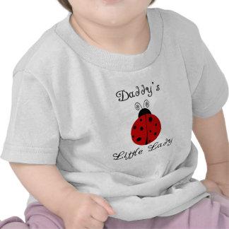 ¡La pequeña señora del papá!  Diseño de la Camiseta