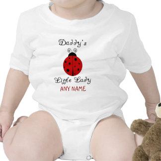 ¡La pequeña señora del papá!  Diseño de la Trajes De Bebé
