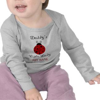 ¡La pequeña señora del papá!  Diseño de la Camisetas