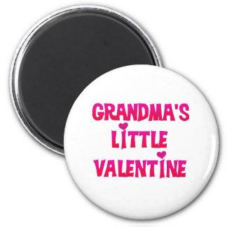 La pequeña tarjeta del día de San Valentín de la a Imán Redondo 5 Cm
