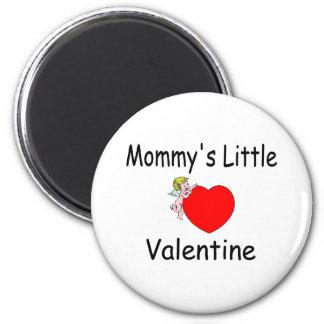 La pequeña tarjeta del día de San Valentín de la m Imán Redondo 5 Cm