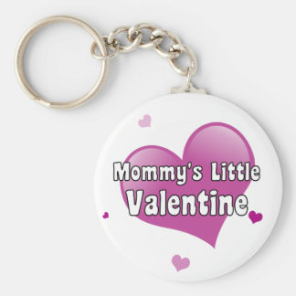 La pequeña tarjeta del día de San Valentín de la m Llavero Redondo Tipo Pin
