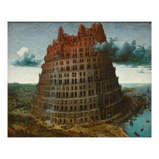 La pequeña torre de Babel de Pieter Bruegel Fotografia