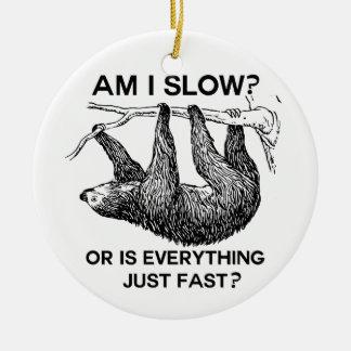 ¿La pereza es yo se reduce? Ornaments Para Arbol De Navidad