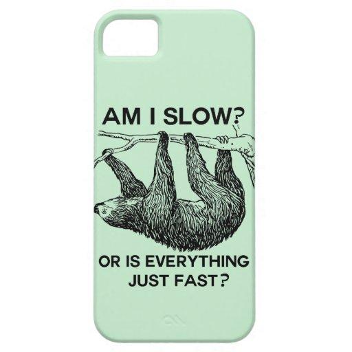 ¿La pereza es yo se reduce? iPhone 5 Carcasa