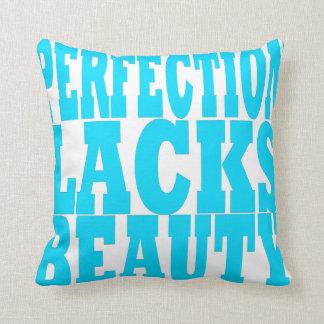La perfección bilateral carece la almohada de la